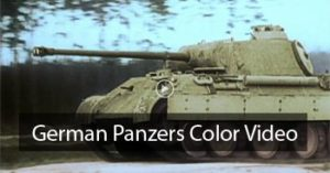 ╬ German Panzers In Action – Color {Video}