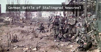 ╬ German Battle Of Stalingrad Newsreel